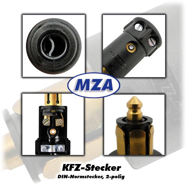 kfz stecker 2 polig elektrikzubeh r zubeh r. Black Bedroom Furniture Sets. Home Design Ideas
