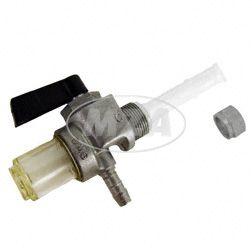 Kraftstoffhahn mit Wassersack für Simson/MZ - mit 6mm-Schlauchanschluss