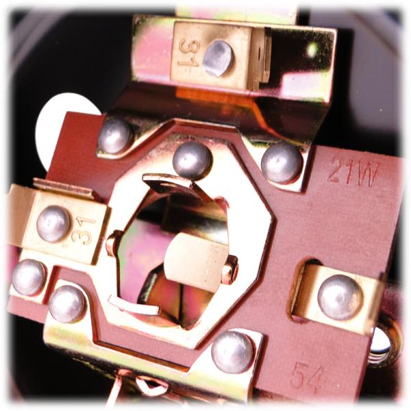 r cklichtunterteil ohne lichtaustritt f kennzeichen metallgeh use f r kr51 1 s50. Black Bedroom Furniture Sets. Home Design Ideas